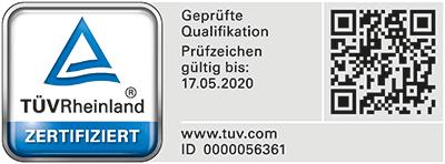 Schornsteinfeger in Köln mit Qualitätszertifikat